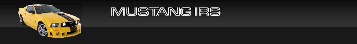 Mustang IRS Blog